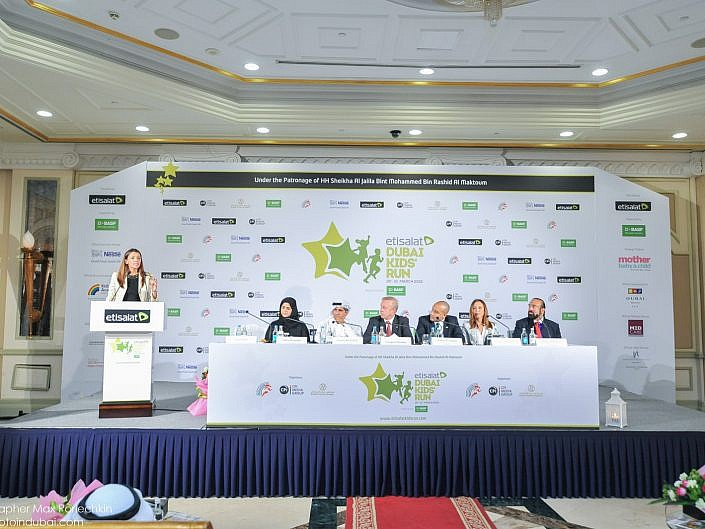 Etisalat Dubai Kids' Run 2015 Press Conference