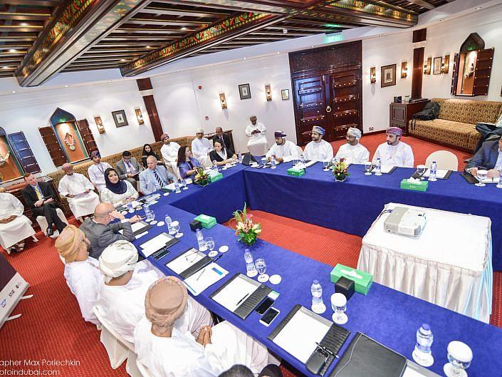 NBAD SME Beyond Borders Roundtable Oman