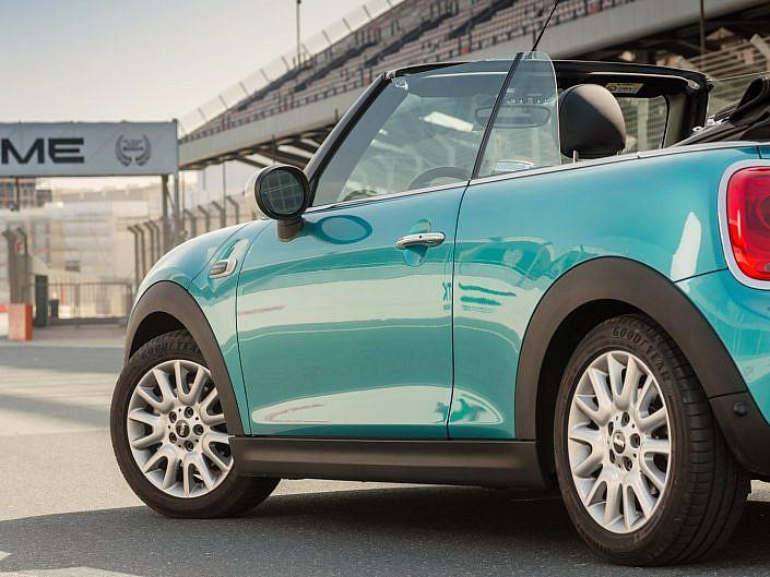 Mini Cooper photoshoot for AGMC Dubai